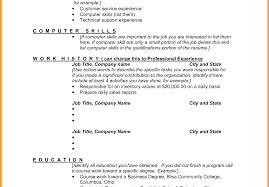 Good Skills To List On A Resume List Of Skills And Experience