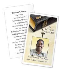 Memorial Card Template Bible Memories Prayer Card Template Funeral Card