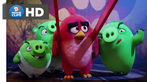 The Angry Birds Movie Hindi (05/14) The Slingshot (गुलेल) Scene MovieClips  - YouTube