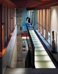 Suspended Walkway Design The Lookout House Glass Bridge Interior Design Glass Floor