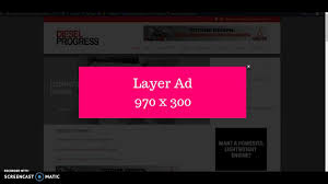 ad sample layer ad sample youtube