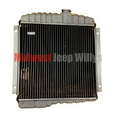 jeep part jeeprad 3 new 3 row 17 radiator for 1965 1968 jeep cj5 new 3 row 17 radiator for 1965 1968 jeep cj5 cj6 225