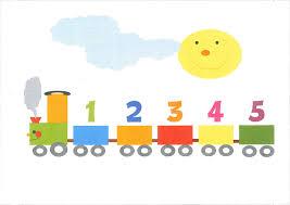 Resultado de imagen de números infantiles del 1 al 5