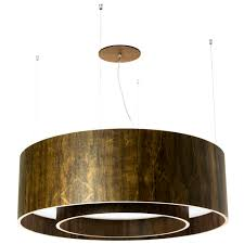 line cylindrical drum pendant with diffuser by lightology collection