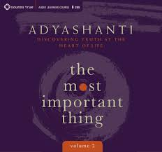 Adyashanti Birth Chart Most Important Thing Volume 2 Discovering Truth At The
