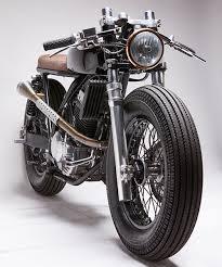 honda tornado caf racer by vida bandida motorcycles