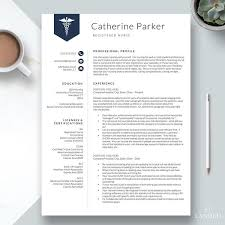 Nurse Resume Template Cv For Nursing Student Nursing