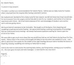 Enjoyable Babysitting References Reference Letter Sample Http