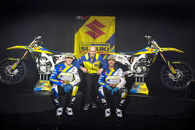 2018 suzuki rm. interesting suzuki left to right arminas jaskonis stefan everts kevin strijbos intended 2018 suzuki rm