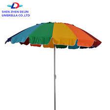 Image Easygo Beach 2019 Giant 8 Rainbow Beach Umbrella Heavy Duty Design Includes Sand Anchor Carry Bag Alibaba 2019 Giant 8 Rainbow Beach Umbrella Heavy Duty Design Includes Sand