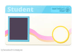 Blank School Id Template Blank Id Card Template Clipart Images Gallery For Free