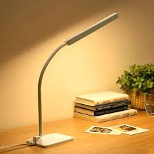touch control lamp eye protection led desk lamp 5 level touch control flexible reading study lamp