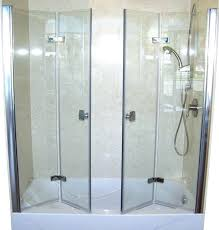 sheen bi fold glass shower door frameless shower door medium size of bi fold door 1