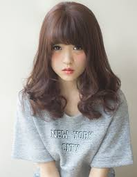 髪型セミロングaライン ヘアカタログ銀座の美容室afloat Japan