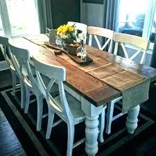 long farm table large farmhouse table unfinished chair plans size of long narrow dining farm la
