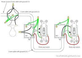 light switch wiring common three way switch wiring light switch light switch wiring common wiring a light and switch 3 way switch power feed via light switch wiring common three way