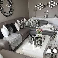 interior grey and white living room ideas attractive 15 black rooms intended for 27 from