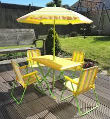 kids garden patio furniture folding