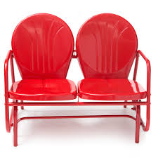 remarkable twin red upholstered chairs glider loveseat