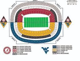 Wvu Football Seating Chart