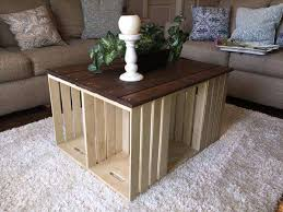 pallet crate furniture. Diy Pallet And Crate Coffee Table 101 Pallets Furniture