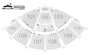 Cynthia Woods Pavilion Seating Chart 68 Veracious Cynthia Woods Mitchell Pavilion Detailed