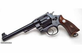 smith wesson hand ejector revolver