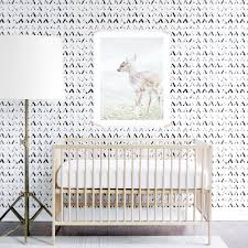 black and white nursery design