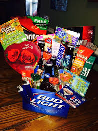 valentines day baskets for him diy valentines day gift baskets for him