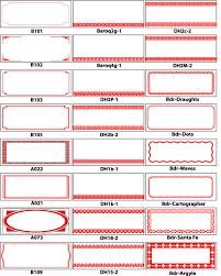 Labels With Border Bowfin Printworks Label Border Designs Custom Spice