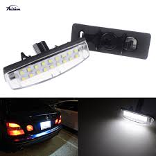 Toyota Camry License Plate Light Replacement Us 11 5 2x18smd No Error Led Number License Plate Light For Toyota Camry Echo 4d Prius Avensis Verso In Signal Lamp From Automobiles Motorcycles