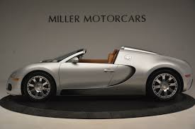 This 2010 bugatti veyron 16.4 is one of the nicest examples of its kind and will be a must have masterpiece for any collection! Pre Owned 2010 Bugatti Veyron 16 4 Grand Sport For Sale Miller Motorcars Stock 7661c