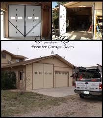 custom dual garage door swing style barn doors