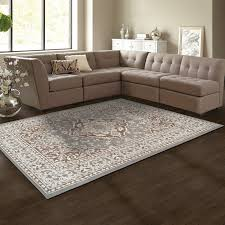 gray and brown area rug amazing wrought studio bonner u silver reviews wayfair in 13