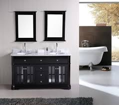 Bathroom Paint Finish Bathroom Contemporary Chic Bathroom Sink Vanities In Black Paint