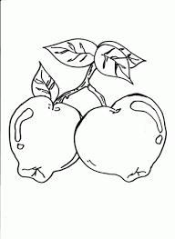 Fruit Kleurplaten