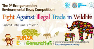 th eco generation environmental essay competition  9th eco generation environmental essay competition 2016 opportunities for africans