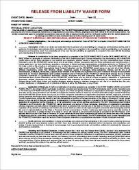 General Liability Release Form Samples - 8+ Free Documents In Pdf