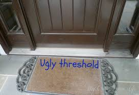 front door thresholdPaint The Ugly Threshold  Calling it Home