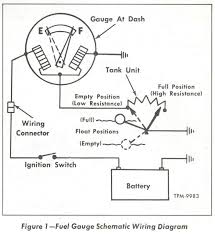 marine fuel gauge wiring diagram Fuel Sending Unit Wire Diagram 2Wire Fuel Sending Unit