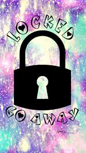 girly wallpapers for iphone lock screen.  Iphone Locked Go Away Hipster Galaxy WallpaperLockscreen Girly Cute Wallpapers  For IPhone Android IPad U0026 All Other Smart Devices Visit My Page On CocoPPa App  For Girly Iphone Lock Screen Y