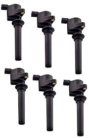 amazon com set of 6 ignition coils for various ford escape taurus set of 6 ignition coils for various ford escape taurus five hundred mazda