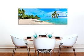 beach wall art canvas tropical gallery wrapped wall art tropical beach scene on canvas beach themed