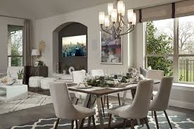 Barrington Design Open Concept Dining Room Family Room Coventry Homes In