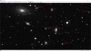 webb deep sky society deep sky observations of galaxy megastar chart of the ngc 2340 field