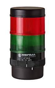 Werma Lights Werma 697 410 55 Kompakt 71 Rm 24 Vdc Pa Gf Red Green
