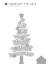 Tactiele Tekeningen Kerstboom