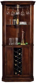 corner curved mini bar. Howard Miller Piedmont Rustic Cherry Corner Bar Cabinet - Curved Mini L