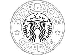 Starbucks Logo Colouring Pages Basic Things In 2019 Starbucks