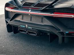 The optional black anodized components and alcantara detailing illustrate. Bugatti Chiron Pur Sport 2021 Picture 233 Of 251